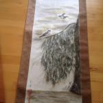 Piletræ med fugl
