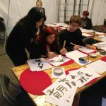 Kalligrafi workshop at Viborg Animation Festival sept. 2017